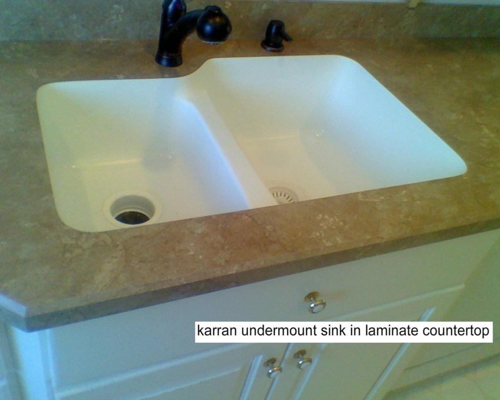wilsonart undermount sinks for laminate countertops Sink Options